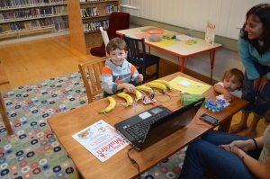 Banana piano with MaKey MaKey