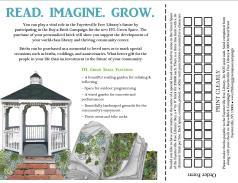Inside the Green Space tri-fold brochure
