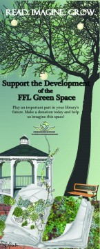 7' Banner for the FFL Green Space Campaign