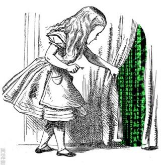 Alice through the terminal?