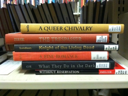 A Queer Chivalry/ The Trespasser/ Knight of the Living Dead/ A Fine Romance/ What They Do in the Dark/ Without Reservation ©japeters