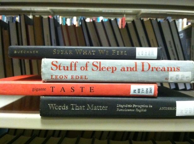 Speak What We Feel/ Stuff of Sleep and Dreams/ Taste/ Words that Matter ©japeters
